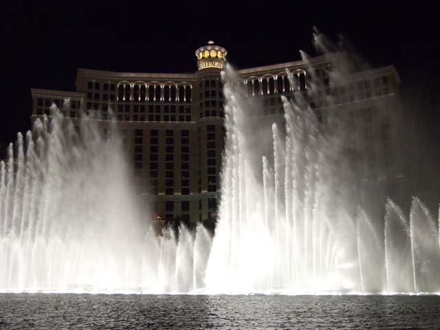 ベラッジオの噴水ショー2