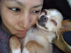 眠る小太郎2
