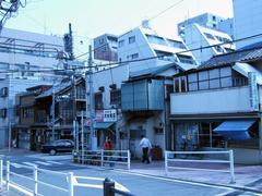 新富橋の風景